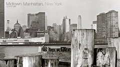 Midtown Manhattan, New York. 15 October 1966. (cobravictor) Tags: old ny newyork skyline 60s october skyscrapers 15 1966 retro midtownmanhattan