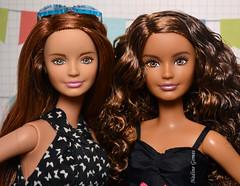 Skipper and Skipper (Nadine Gomes) Tags: coral for crazy doll barbie skipper petite fashionistas 2016