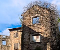 Crowned ruin 2 (senza senso) Tags: abandoned ruin croatia istria hrvatska darktable