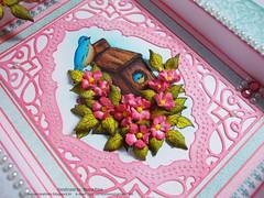 Birds & bloom frame close up 1 (Nupur Creatives) Tags: heartfelt creations heartfeltcreations