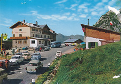 Ansichtkaart Dolomite Passo Falzarego 2117m (dickjan thuis) Tags: bp dolomite passo falzarego ansichtkaart 2117m