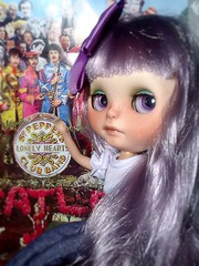 """Blythe-a-Day May#31: Good Night: Lyra Says, """"It Was Fun!"""""""