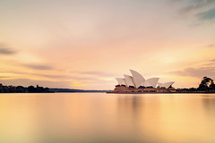 ...FROM THE RISING OF THE SUN (ngairenaran) Tags: sunrise landscape sydney australia nsw sydneyharbour sydneyoperahouse 10stop iconicbuildings nisifilters