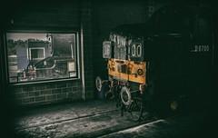 Inside out (Blaydon52C) Tags: york train yorkshire transport engine rail railway loco trains steam locomotive railways locomotion nrm nationalrailwaymuseum locomotives lms englishelectric 8f class37 stanier 37119 48151 d6700