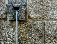 Be water my friend. (giuseppemontalto) Tags: citazione lungaesposizione longexposure bewatermyfriend brucelee acqua sorgente source granito sardegna tempiopausania