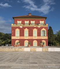 Muse Matisse, Nice, France. (abochevarov) Tags: house france building museum architecture nice nikon colorful wide wideangle ctedazur matisse nicefrance musematisse nikond810