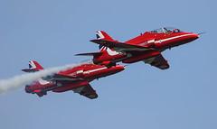 BAe Hawk T1 Red Arrows RAFAT 027-1 (cwoodend..........Thanks) Tags: duxford bae redarrows raf t1 2016 rafat baehawk rafscampton baehawkt1 theamericanairshow