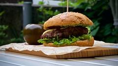 IMG_3045 (ermakov) Tags: orange black green mushroom tomato handmade sauce burger craft meat grill bun helios442