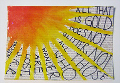 jrrt quote atc (kcici924) Tags: atc quote tolkien