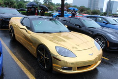 IMG_1611 (ItsJerin) Tags: chevrolet gold houston automotive chevy corvette v8 c6 americanmuscle goldwrap coffeeandcars