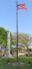 Waukesha County Civil War Monument (Waukesha, Wisconsin) (courthouselover) Tags: wisconsin statues flags waukesha wi waukeshacounty civilwarmonuments civilwarmemorials unionmonuments milwaukeemetropolitanarea