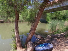 Launch site (EllenJo) Tags: arizona river pentax tube raft verderiver riparian sundayafternoon june5 clarkdale 2016 ellenjo summerinarizona ellenjoroberts tuzigootbridge tuzirap pentaxqs1 cruisingdowntheriveronasundayafternoon