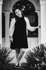 Gabie (bdunn829) Tags: portrait blackandwhite monochrome photography model graduate grad graduating portraitshoot