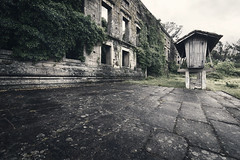 It is not the strongest of the species that survives, nor the most intelligent, but the one most responsive to change.   Leon C. Megginson (RuiFAFerreira) Tags: old urban house abandoned architecture rural rocks exterior decay ruin urbanexploration villa aged mansion oblivion granary urbex