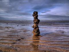 Flint Nodule Henge (Paul @ Doverpast.co.uk) Tags: uk sea england beach kent seaside sand flint margate henge thanet nodule