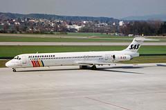 SE-DPI McDonnell Douglas MD-83 SAS Sca