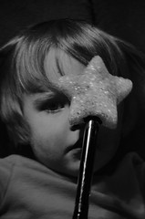 Magic wand boy (PlasticJason) Tags: boy bw youth wand magic d7000