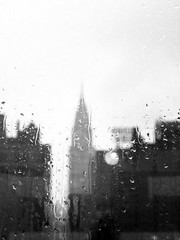 Rainy Chrysler (jpmacmillan) Tags: street nyc newyorkcity ny newyork building window rain skyline manhattan rainy chrysler chryslerbuilding 42nd 42ndstreet