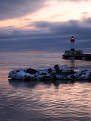 A Safe Harbor . . . (doc030395) Tags: winter snow cold ice minnesota harbor duluth pristine