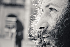 Fede (Francesco Giusto) Tags: portrait bn sguardo ritratto fede 2012 lookingahead francescogiusto frankieta