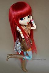 Jessica   Pullip Stica (·Kumo~Milk·^^) Tags: doll eyelashes jessica wig gloss pullip fée obitsu eyechips rewigged stica rechipped brandnewpurezzasbag xiaofansfishnets