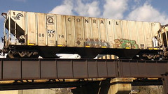 EBAY & BZEE (BLACK VOMIT) Tags: car train graffiti virginia ebay grain richmond va hopper freight conrail bz grainer bzee