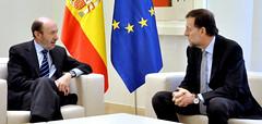 El presidente del Gobierno recibe al secretario general del PSOE (La Moncloa - Gobierno de Espaa) Tags: rajoy psoe marianorajoy rubalcaba lamoncloa presidentedegobierno