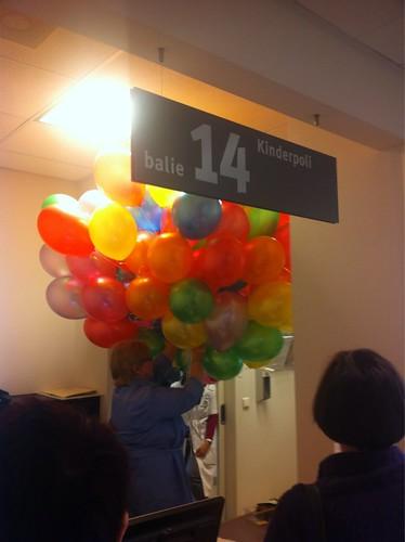 Heliumballonnen Oogziekenhuis Rotterdam