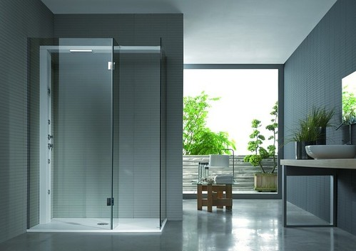 Glass and Fibreglass Shower Cubicles for Teens' Bedrooms