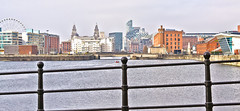 Liverpool City (Craig Greenwood) Tags: world city uk travel blue winter sea england cold english heritage history home water beauty skyline liverpool docks landscape 50mm nikon l1 flickr colours harrison waterfront view northwest unitedkingdom britain hometown vibrant scenic visit front beaty historic clear crisp citylights craig stunning historical beatles british 1855 dslr lennon johnlennon fab4 ringo mccartney citycentre pierhead albertdock mathewstreet thebeatles 2012 efc historiccity merseyside lfc scouser everton cavernclub liverbuilding citybreaks slavetrade icapture thevines scouse rivermersey thecavern liverpoolone d3100