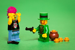 11/52: Do you feel lucky, punk? (pong0814) Tags: ireland irish canada macro green film closeup canon fun toy toys photography eos gold march funny punk winnipeg treasure lego action flash manitoba indoors movies guns characters minifigs dslr weekly stpatricksday 2012 leprechaun stpaddysday minifigure potofgold dirtyharry harrycallahan moviequotes ef100mmf28macrousm famousquotes happystpatricksday project52 430exii 5dii legofaces