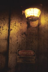 midday danger ({ tcb }) Tags: light danger ominous signage tcb urbex twincitiesbrightest