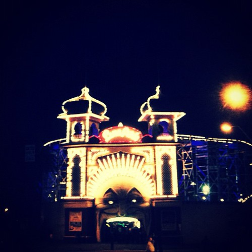 Luna Park #lights #melbourne