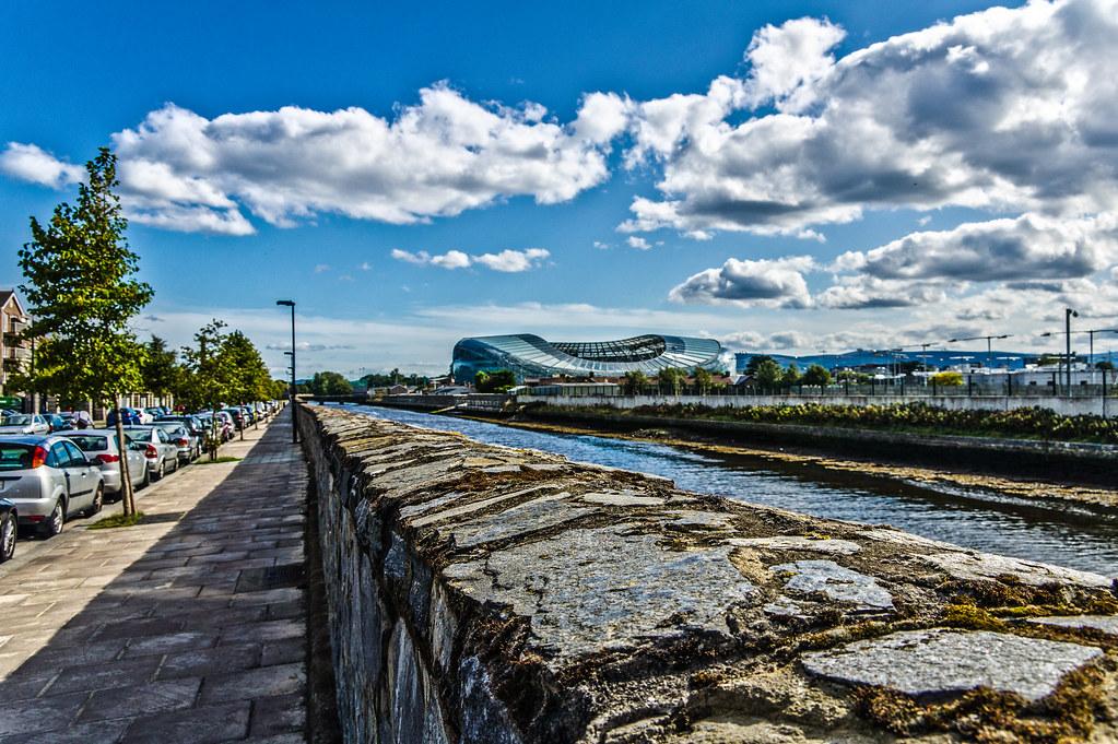 Lansdowne Stadium As Seen From Fitzwilliam Quay