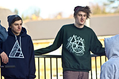 Chris White - Act Appalled Navy Hoodie and Alistair Freeman - Act Appalled Green Crew / Sweatshirt (old_skool_paul) Tags: life street new uk winter portrait people music cold fashion canon print logo real design diy blog hoodie sweater clothing amazing natural skateboarding outdoor top buckinghamshire skating stickers hipster freezing tshirt guys screen daily fresh wear josh company crew adobe printing heads co skateboard vans uni sweatshirt nophotoshop launch sputnik cloths beanie bucks act blase marlow anything supreme 135mm aac lightroom appalled supra highwycombe hooded asos krooked carharrt 60d snapback tosner sputniksnowboardshop