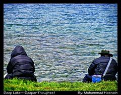 Deep Lake--Deeper Thoughts ! (Muhammad Hasnain) Tags: pakistan lake deep thoughts deosai sheosarlake gilgitbaltistan