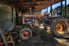 Grandfather's Legacy (Rob Hanson Photography) Tags: tractor photoshop nc rust antique farm farming grandfather northcarolina heirloom hdr dover hdri sentimental allischalmers photomatix tonemapping tonemap hdrexpress