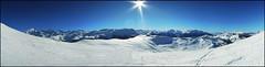 Vue du Mont Vores (Czternasty) Tags: winter mountain snow ski montagne landscape nikon hiver neige paysage montblanc p300 nikonp300