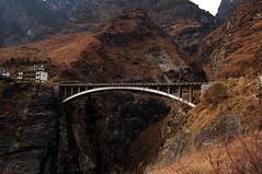 (beijinger) Tags: china travel bridge lake forest hiking plateau tiger shangrila gorge 中国 yunnan 旅行 雪 leaping 湖 云南 桥 冰 香格里拉 虎跳峡 森林公园 高原 原始森林