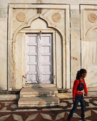Taj Mahal back door