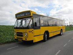 BBA museumbus 434 Bleiswijk (Arthur-A) Tags: bus netherlands buses nederland autobus brabant bba noordbrabant daf bussen ijsseldijk denoudsten mb200 museumbus