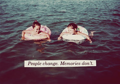 . (eleven wishes) Tags: girls sea childhood kids quote text memories bestfriends