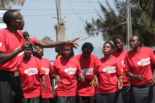 Uganda cares post test club (Ffena Wamu) drama group