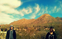 BIG (pastin-up) Tags: camping trees wild sky mountain outside outdoors tucson hiking az adventure explore viamatias