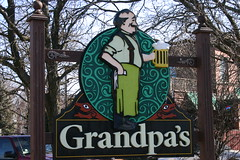 Grandpa's (niureitman) Tags: sign bar illinois tavern mug stein 2012 glenview glenviewillinois