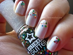 Dancing Days glitter + Concret Jungle (DriEsmaltes) Tags: glitter topbeauty