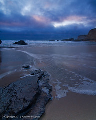 Reflections At The End Of The Day (Explored) (andy_57) Tags: sea clouds twilight pacific dusk workshop davenport pantherbeach leefilters seatosummit d7000 tokina1116mmf28