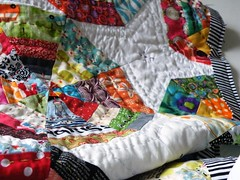 (monaw2008) Tags: quilt handmade spiderweb fabric swap block patchwork applique handquilting monaw monaw2008
