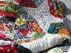 (monaw2008) Tags: quilt handmade spiderweb fabric swap block patchwork applique handquilting monaw monaw2008