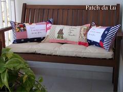 Almofadas personalizadas (Patch da Lu) Tags: almofada colorida almofadaretangular almofadaspersonalizadas almofadacomfrases almofadacasinhaalmofadadecorao